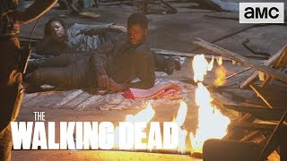 (SPOILERS) 'A Fiery Revenge' Making of Ep. 906 BTS | The Walking Dead - AMC