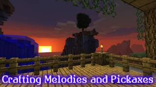 Royalty FreePiano:Crafting Melodies and Pickaxes