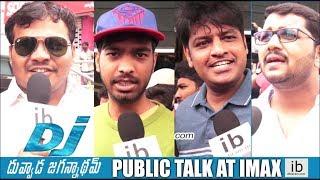 idlebrain.com's DJ Duvvada Jagannadham public talk at IMAX - IDLEBRAINLIVE