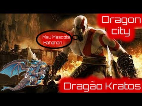 Dragon city - Dragão Kratos