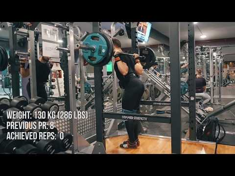 Full Body Workout | New ATG Squat Rep PR | Physique Update