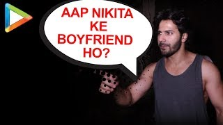 Varun Dhawan's special gesture for his fan | spotted outside gym - HUNGAMA