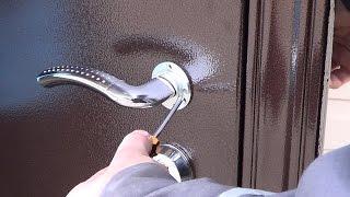 Установка входной металлической двери своими руками | Как установить дверь