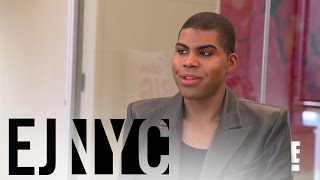 "EJ Johnson Meets With ""Cosmopolitan"" Magazine 