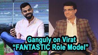 Sourav Ganguly on Virat Kohli | FANTASTIC Role Model - IANSINDIA