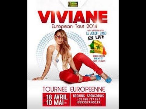 Viviane Ndour:European Tour 2014 - Etape Florence