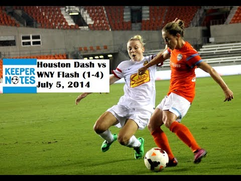 KeeperNotes - Houston Dash vs WNY Flash Post-game Interviews