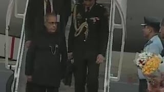 President Pranab Mukherjee to land at Hakimpet airport - TV5NEWSCHANNEL