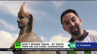 Russian or Egyptian sphinx? RT tests football fans as two countries prepare to clash - RUSSIATODAY