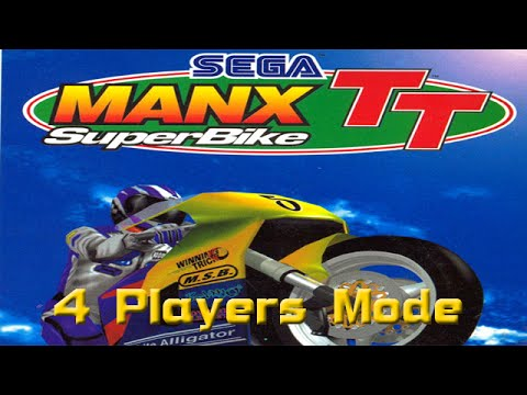 ManX TT Super Bike, 4 Players Attract mode