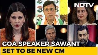 BJP's Pramod Sawant Set To Be New Goa Chief Minister - NDTV