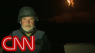 Flares illuminate Syrian horizon as WH claims caliphate defeated - CNN