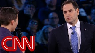Survivor to Rubio: Will you reject NRA money? - CNN