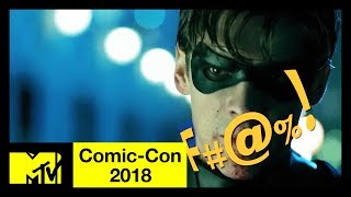 DC's TITANS: 'F*ck Batman' Compilation ft. 'Riverdale' Cast & More! | Comic-Con 2018 | MTV - MTV