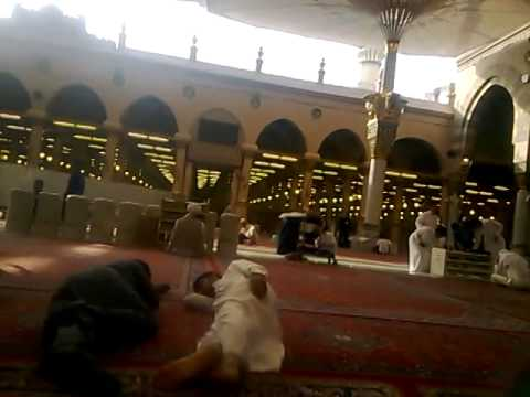Asif attari in masjid-e-nabvi shareef