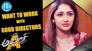 Want To Work With Good Directors - Sayyeshaa Saigal || Talking Movies with iDream - IDREAMMOVIES