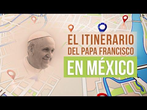 Itinerario de Francisco en México