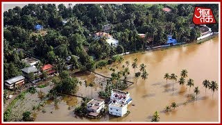 God's Own Country Kerala Ravaged By Gods, 223139 People Living In 1500 Relief Camps Across The State - AAJTAKTV