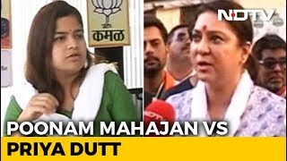 Battle For Mumbai: Can Poonam Mahajan Fight Off Priya Dutt's Challenge? - NDTV