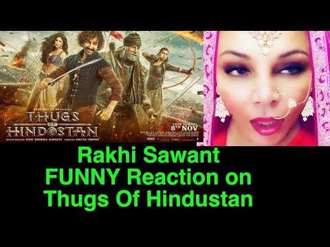 Rakhi Sawant SUPPORT! Thugs Of Hindostan | Aamir | Amitabh | Katrina | Fatima | Bollywood