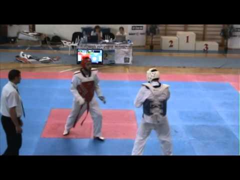 הקרב של שון אלקובי מאליפות ישראל עד גיל 21 2012