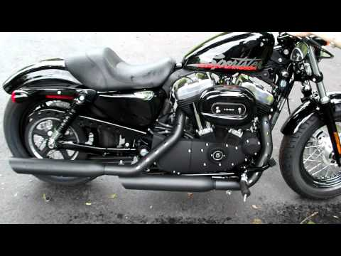Sportster 48 stock exhaust vs Screaming Eagle slip ons Part 2