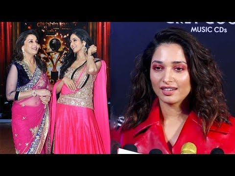 Tamannaah Bhatia Praises Sridevi and Madhuri Dixit At GQ 100 Best Dressed Awards 2019
