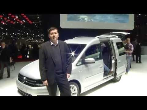 Autoperiskop.cz  – Výjimečný pohled na auta - Volkswagen Caddy 2015 – SPECIÁLNÍ VIDEOREPORTÁŽ/ AUTOSALON ŽENEVA 2015