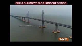 World's longest sea-crossing bridge opens between Hong Kong and China - INDIATV