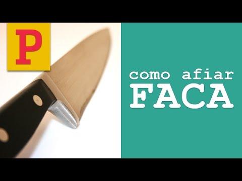 Como afiar uma faca. PANELINHA por Rita Lobo