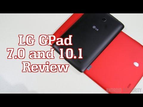 LG G Pad 7.0 & G Pad 10.1 Review