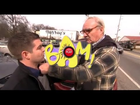 Old Dude Punches Reporter