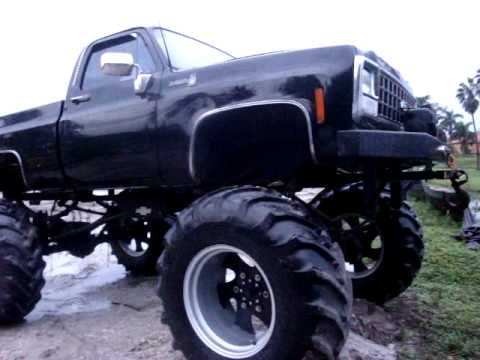 mikeys bad ass chevy 4x4 on 52