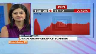 Market Pulse: CBI Case: JSPL Stock Punished - BLOOMBERGUTV