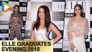 Yami Gautam, Sonal Chauhan And Malavika Mohanan At ELLE Graduates Evening 2018 - HUNGAMA