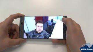 Знакомство с селфифоном Sony Xperia XA Ultra