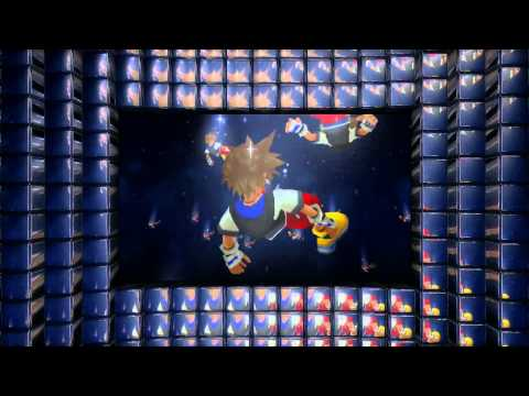 Full HD | Kingdom Hearts 3D: Dream Drop Distance Trailer for Nintendo 3DS (1080p)