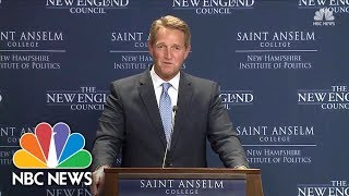 Senator Jeff Flake On Running For President: Odds Are Long, 'But I Have Not Ruled It Out' | NBC News - NBCNEWS