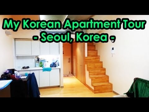 My Korean Apartment Tour -- Seoul, Korea