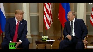 Putin-Trump meeting in Helsinki: Bilateral talks kick off - RUSSIATODAY