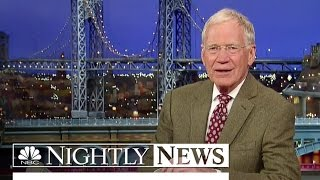 David Letterman Says Goodbye To 'Late Show' | NBC Nightly News - NBCNEWS