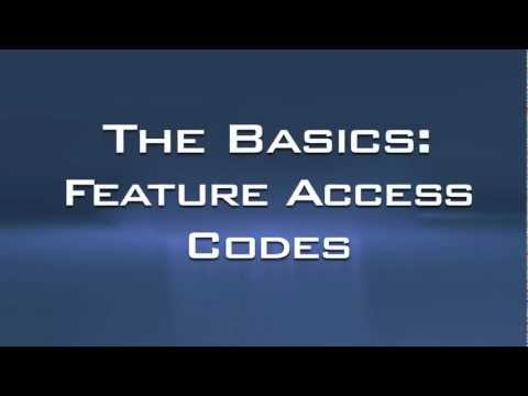 THE BASICS - Feature Access Codes - Avaya PBX 5.2 - HD