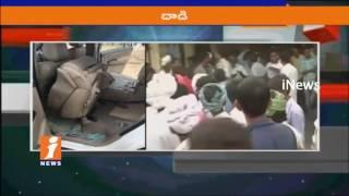Congress Vice President Rahul Gandhi Convoy Attacked By BJP leaders In Gujarat | iNews - INEWS