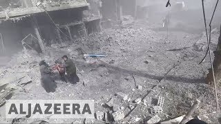 Syrian National Coalition: Ghouta being 'exterminated' - ALJAZEERAENGLISH