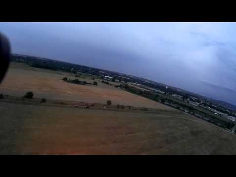 FPV dogfight in storm (fun)