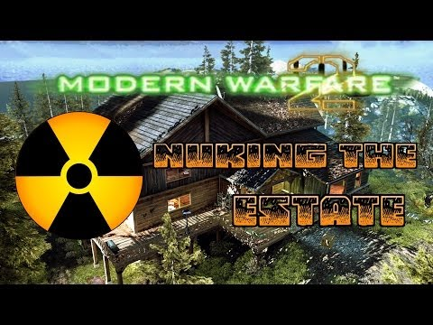 Modern Warfare 2 - Tactical Nuke on Estate! (Where I Have Been)