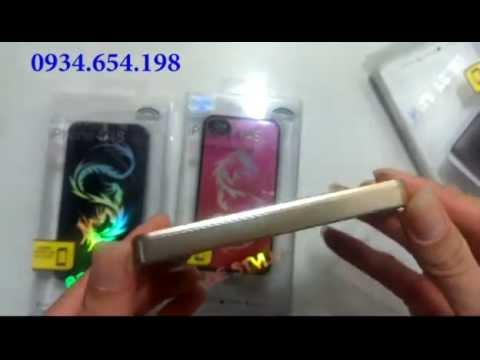 Ốp lưng iPhone hình rồng cho iphoen 5/5s và iphone 4/4s
