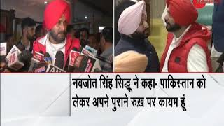 Navjot Singh Sidhu still stands by his statement over Pulwama attack - ZEENEWS