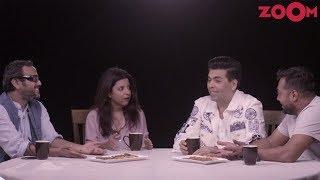 Karan Johar, Zoya Akhtar, Anurag Kashyap & Dibakar Banerjee Talk About Cinema   MN In Dialogue - ZOOMDEKHO