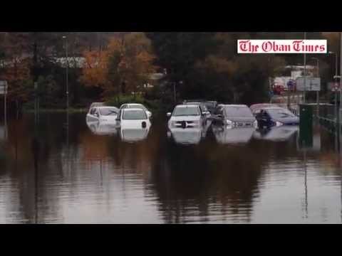 Lochavullin Oban Flood October 2014